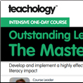 Outstanding Leadership of Literacy The Masterclass 2018